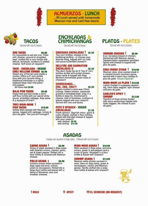 Baja Cafe Deerfield Beach Coupons