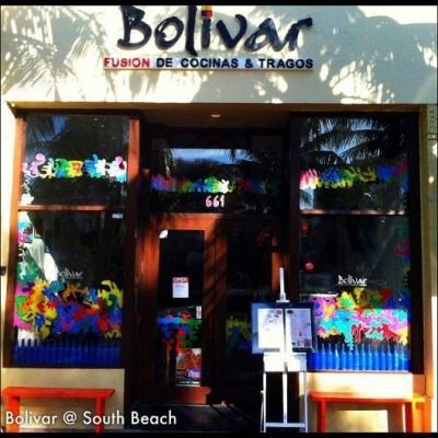 Bolivar Coupon Discount Menu 661 Washington Ave Miami