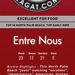Get 60% Off dining certificates to Entre Nous Bistro from Charitydine.com